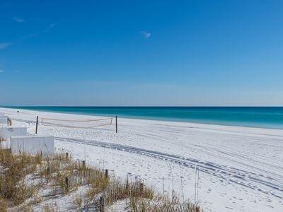 Herrliche weißen Sandstrände von Destin / Miramar Strand!