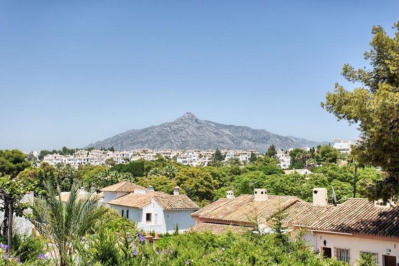 Terraza en la azotea Solarium w / bar, fregadero, nevera y ducha. Increíbles vistas a La Concha.