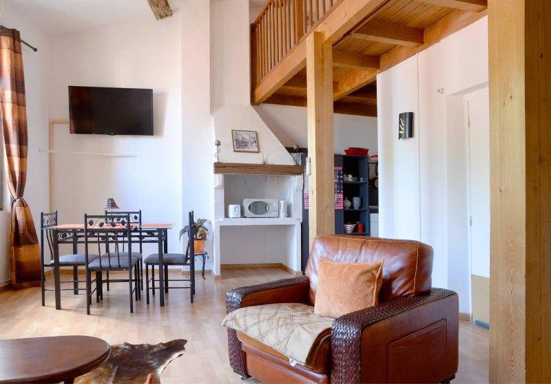 Duplex de 73m²  au 3em Etage appartement 2 chambres centre historique de Pezenas, holiday rental in Lezignan-la-Cebe