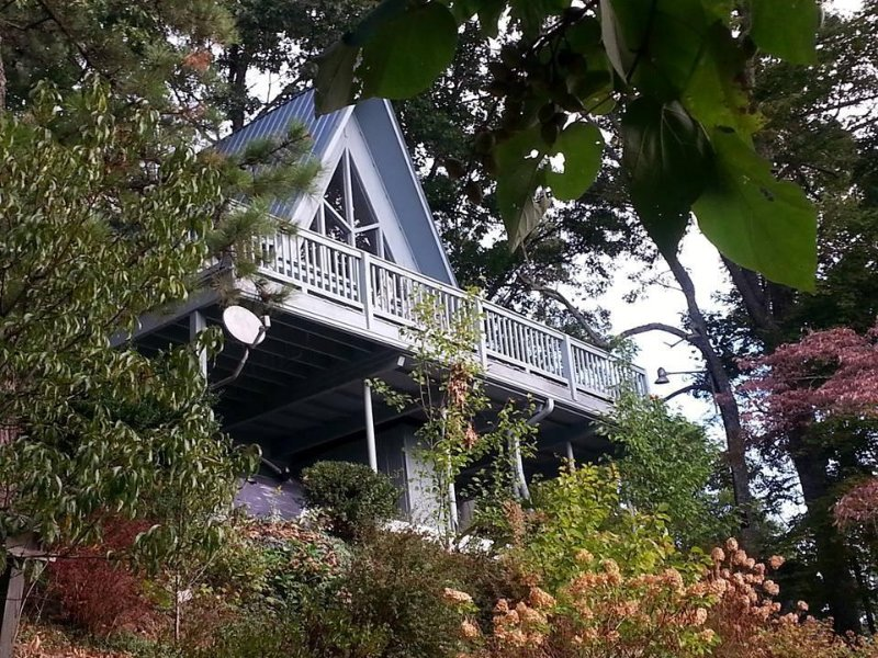 A frame Home with Million Dollar View, Franklin, NC., holiday rental in Franklin