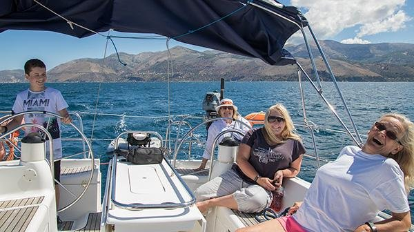 Holiday Sailing yacht Charter and day trips from kefalonia, holiday rental in Argostolion