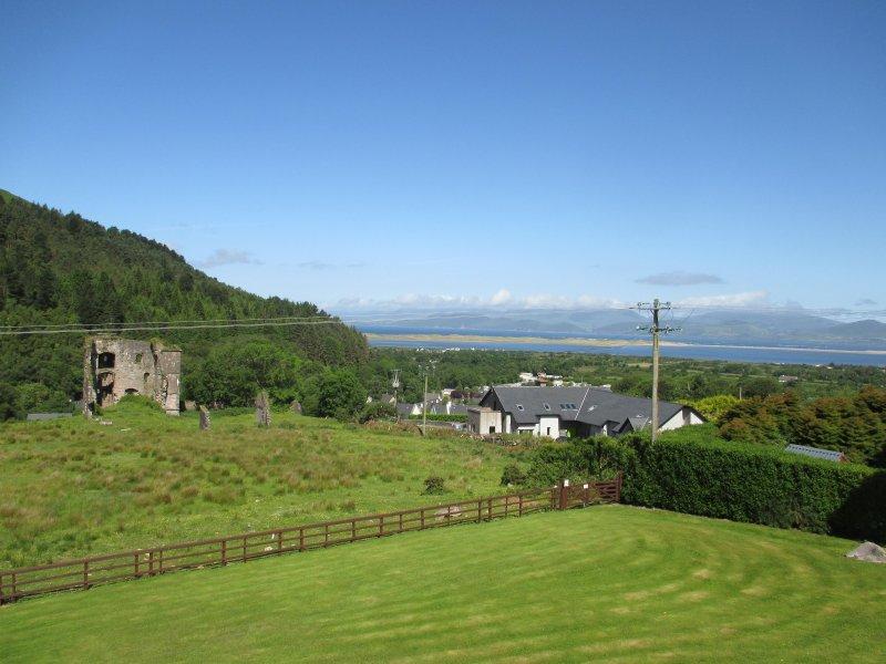 Viste dalla casa Castello di Wynns e spiaggia di Rossbeigh 5 min. a piedi fino a Glenbeigh Village