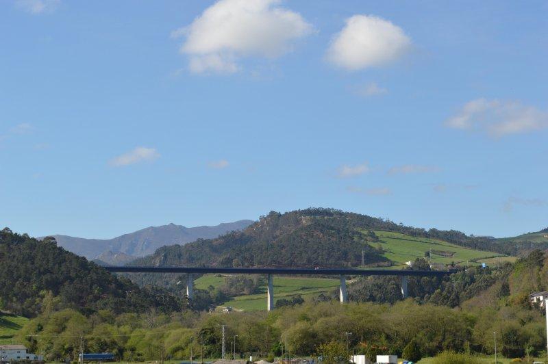 ponte San Timóteo sobre a auto-estrada A-8