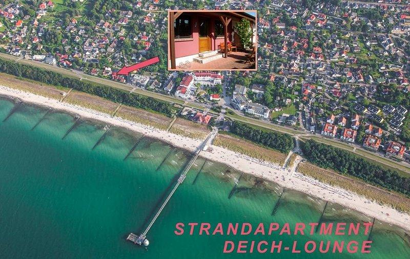 Strandapartment DEICH-LOUNGE, location de vacances à Zingst
