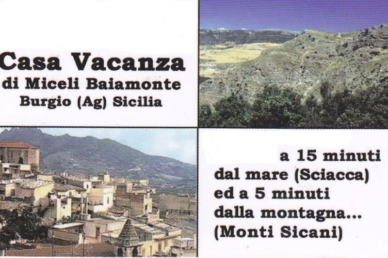 Casa vacanza Miceli Baiamonte, casa vacanza a Caltabellotta