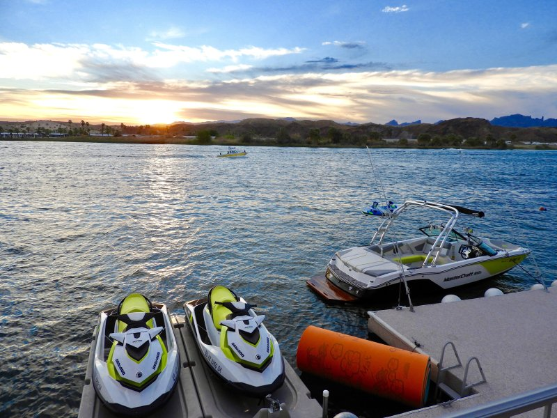 Boat Dock and 2 Jet Ski Slips on the Colorado River/Parker Strip!