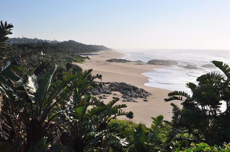 Miles of unsoiled beaches in Southbroom