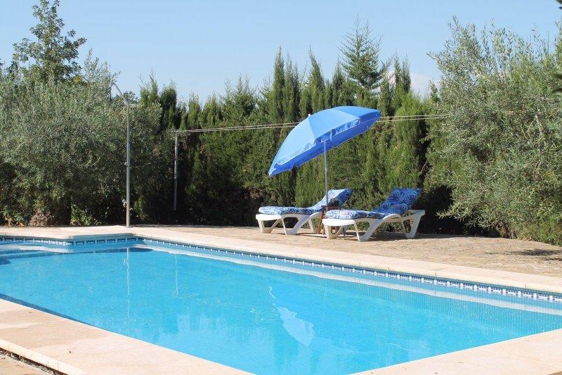 Casa de campo Caminito del Rey, holiday rental in Alora