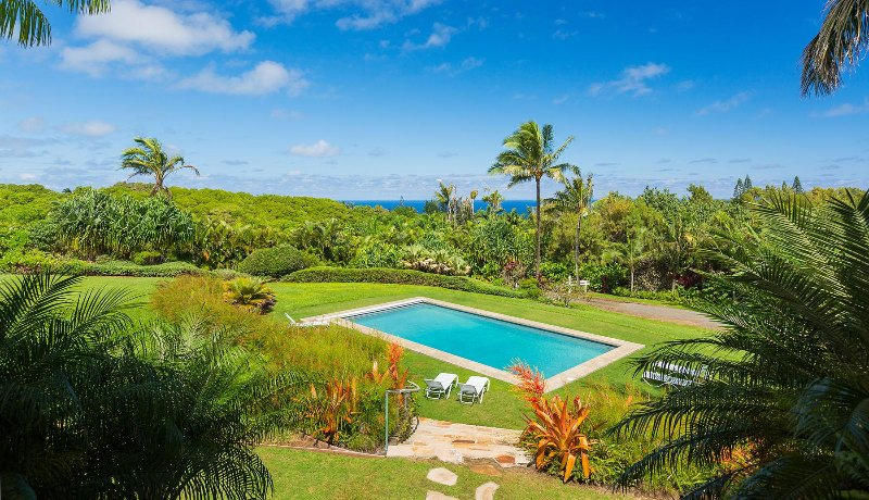 Featured in Coastal Living-pool, view PERMITTED, alquiler de vacaciones en Makawao