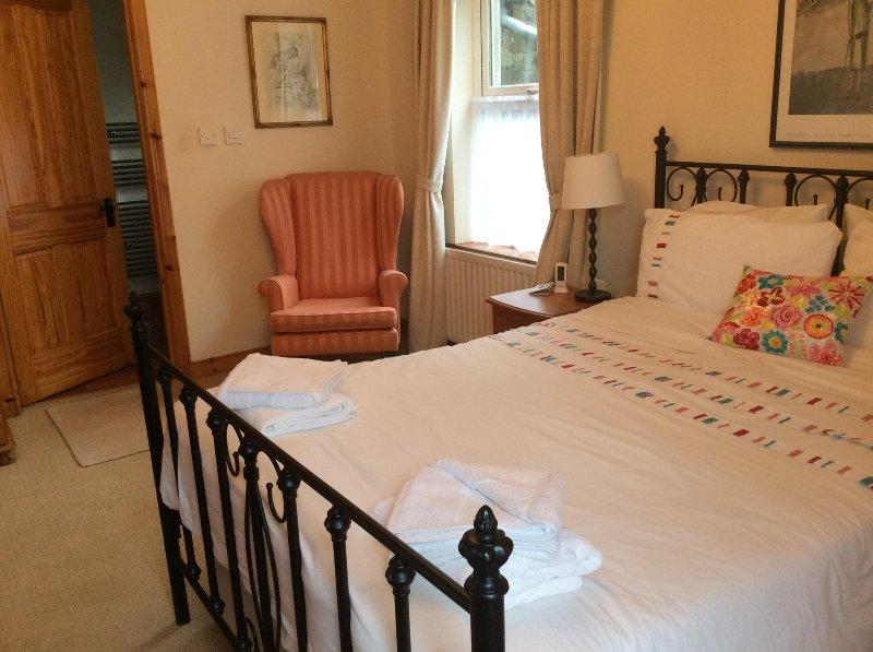 camera da letto al piano terra