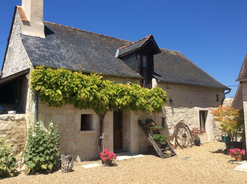Les Mortiers - Loire Gites + heated pool + Wifi, holiday rental in Continvoir