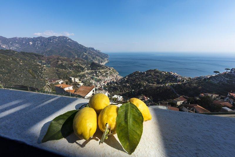 Appartamento panoramico vista mare, vakantiewoning in Ravello