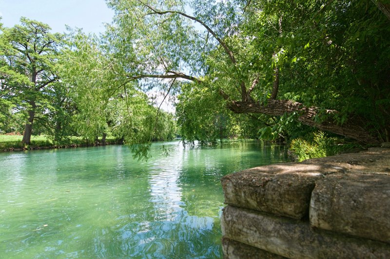 Property is ON the Guadalupe River