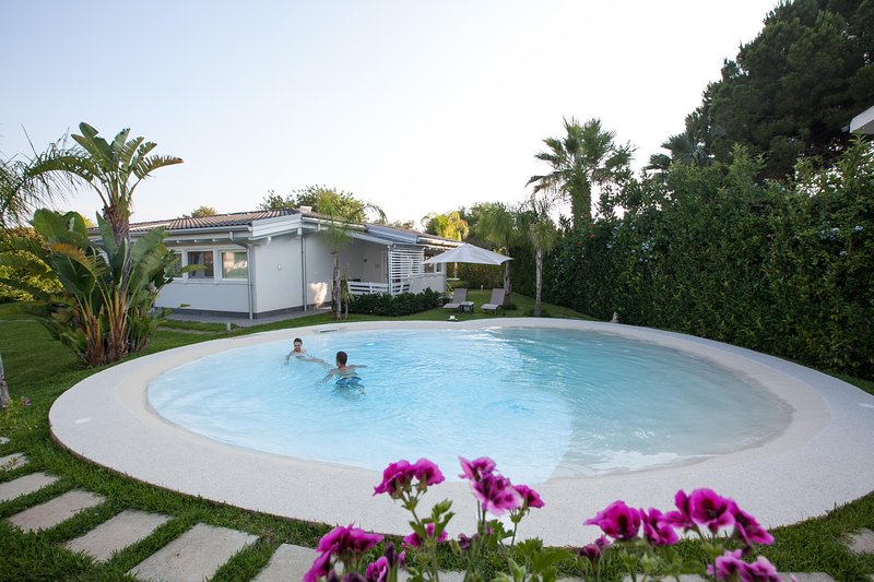 Eco Residence Villa Lucy appartamento NATURA, vacation rental in Syracuse