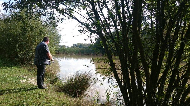 Cabane Forestière - L'étang de pêche. A la campagne en sud Touraine
