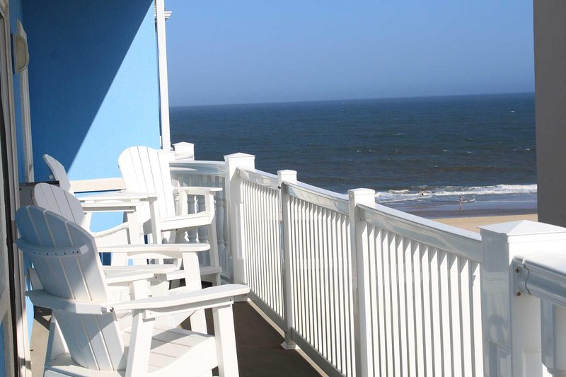 View of Ocean from 4th floor balony off living room