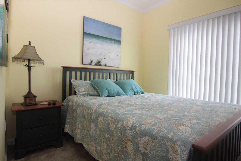Bedroom 4 has Queen Bed set