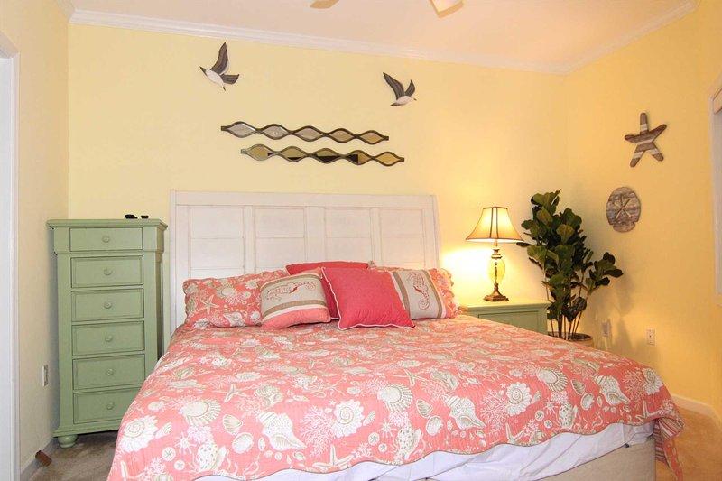 Bedroom 5 has King Bed set