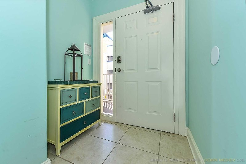 Lovely Entryway with storage