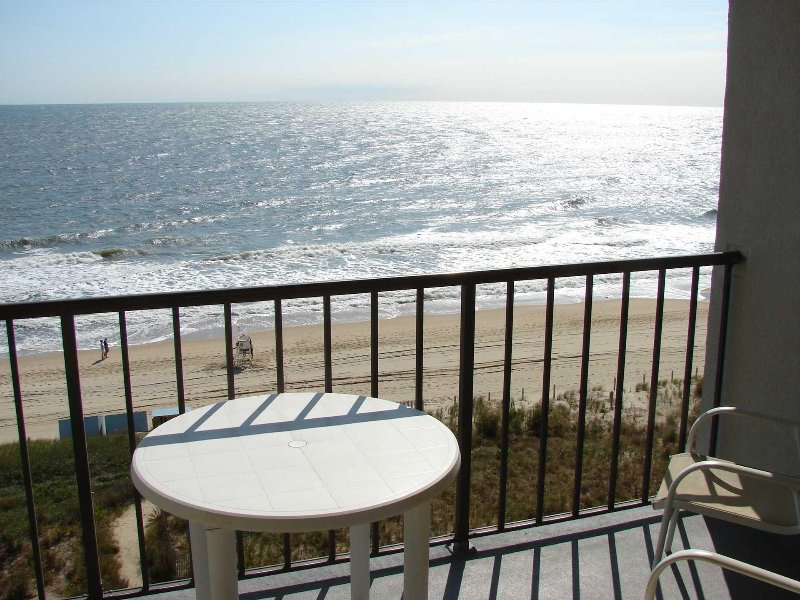 Great View of Ocean from balcony