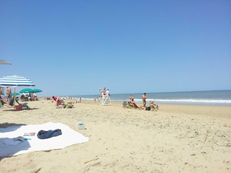 Nice wide uncrowded beach most days!