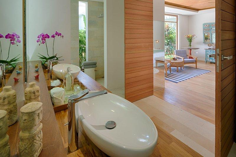 Guest Wing, Salle de bains