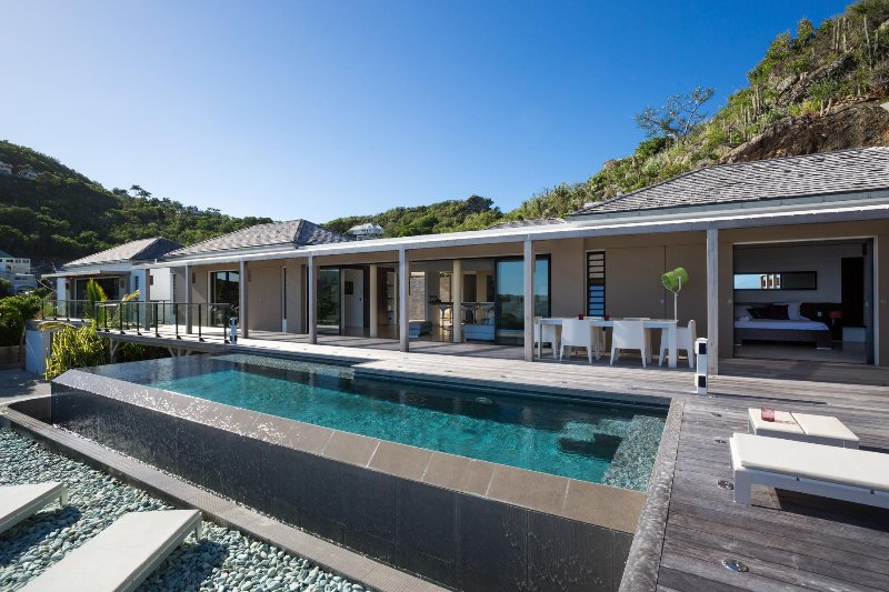 Villa Casawapa St Barts, holiday rental in Anse des Flamands