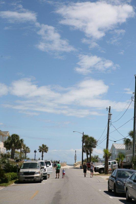Kurzer Fußweg zum Strand