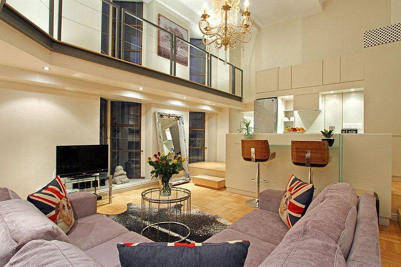 Stella è uno splendido appartamento a pianta aperta con 2 camere da letto