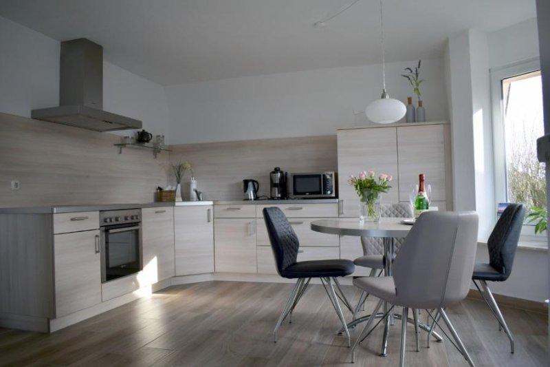 Cozinha moderna para comer
