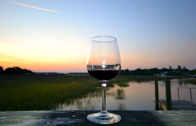Have a glass of wine at sunset on the dock. Enjoy the rhythm of the tides.