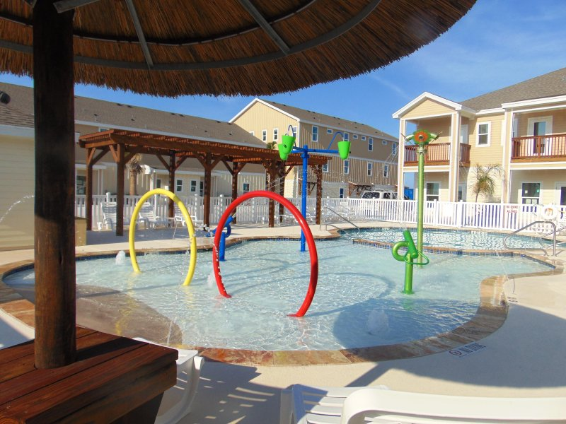 splash area for kids