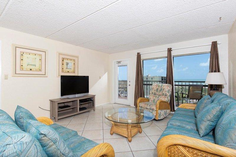 Big Bold Beachfront 2 bedroom 6th Floor Condo, location de vacances à Île de South Padre