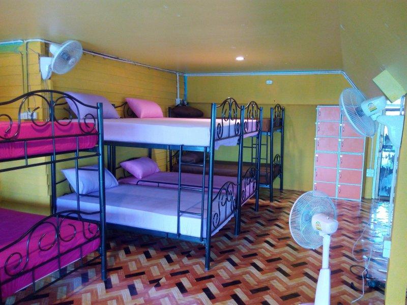 ventilador de habitación de la residencia mixta