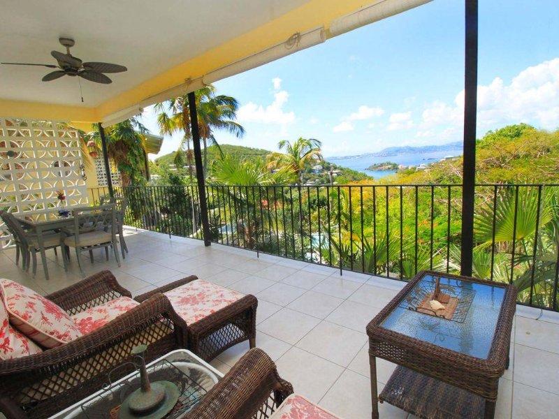 Great views from veranda!