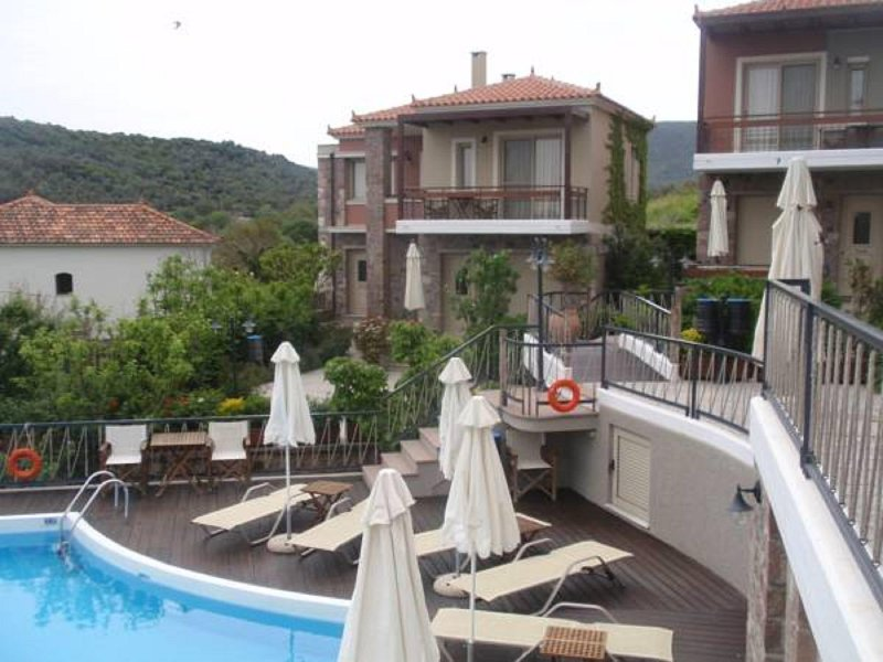 House with Sea View C, Lesvos – semesterbostad i Cunda Island