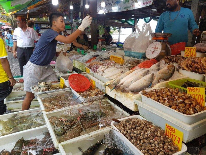 Rawai Famous fish & Seafood Market