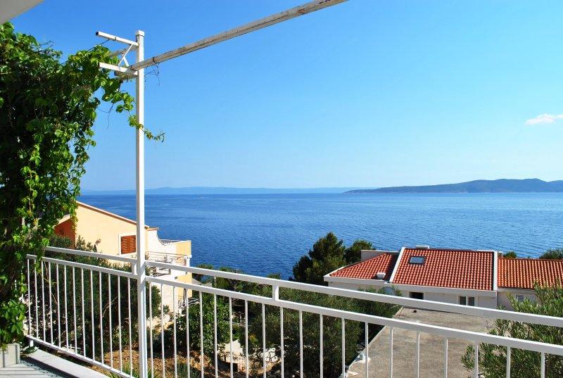 Fabulous utsikt över havet och ön