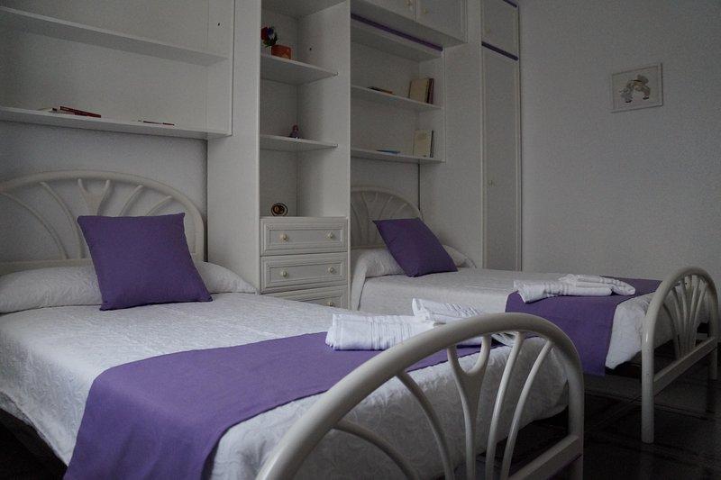 Bedroom # 2 2 beds of 105X180.