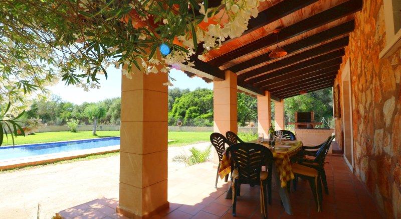 Can Toni, wifi gratis, piscina privada, alquiler de vacaciones en Campos