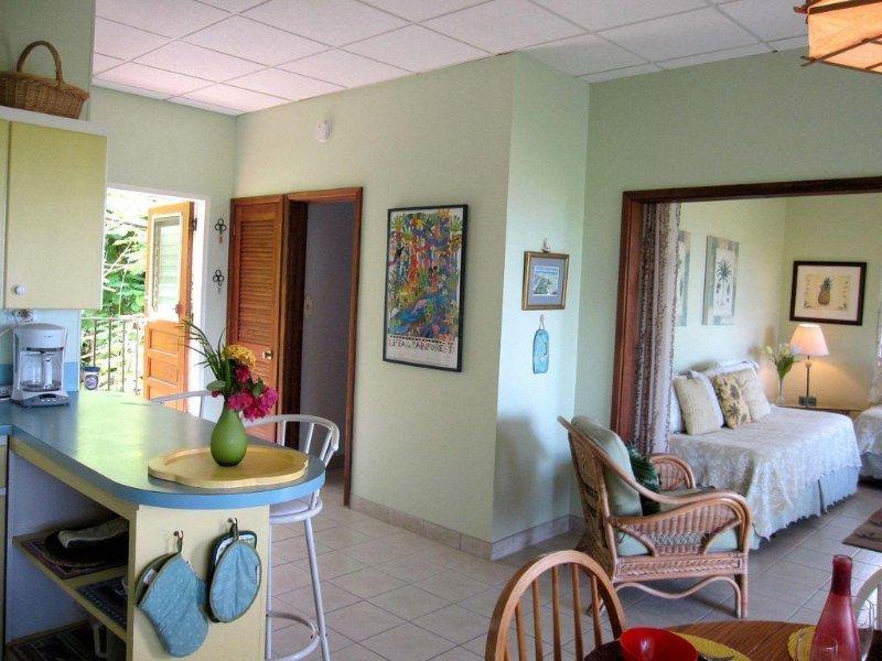 Bright spacious living area!