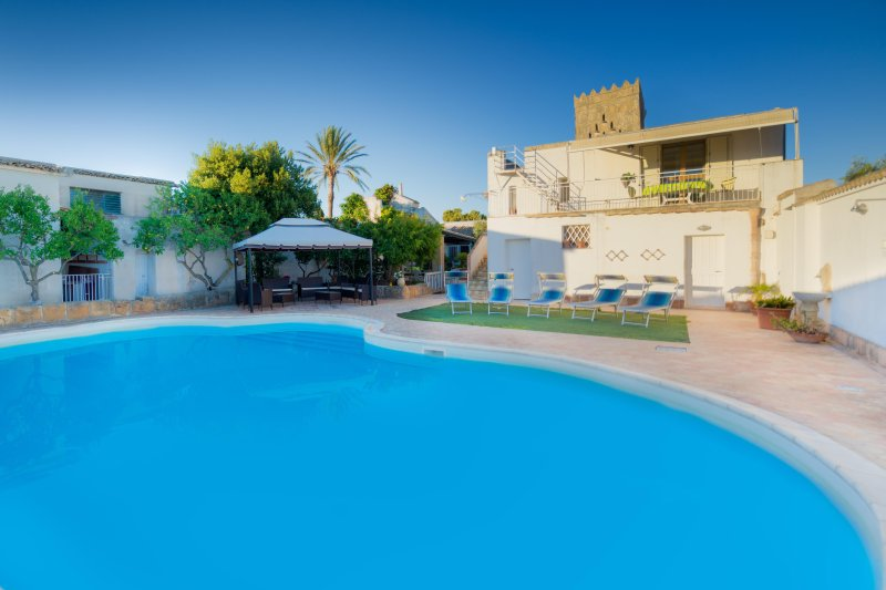 Baglio Sciacca - piscina, mare, vacation rental in Mazara del Vallo