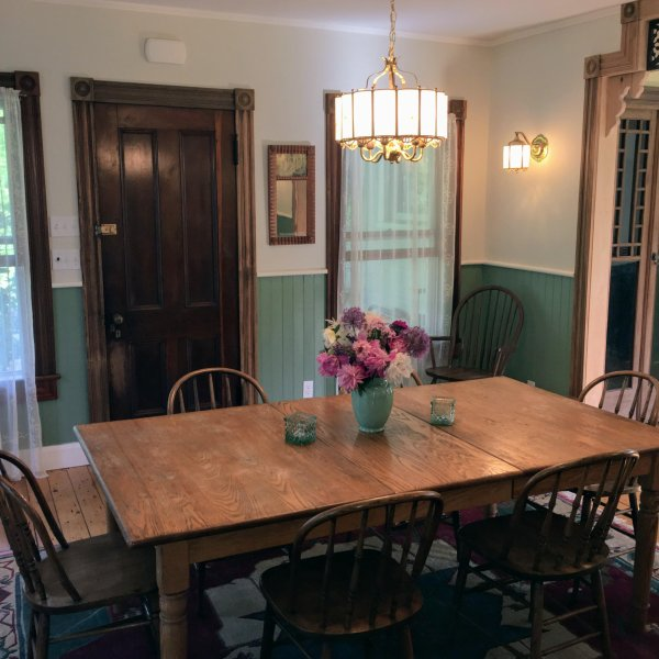 Enjoy your breakfast in our dining room or on our wraparound front porch