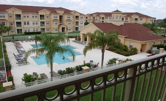Hotel, Resort, Railing, Building, Tropical