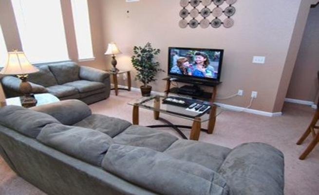 Screen, TV, Television, Couch, Furniture