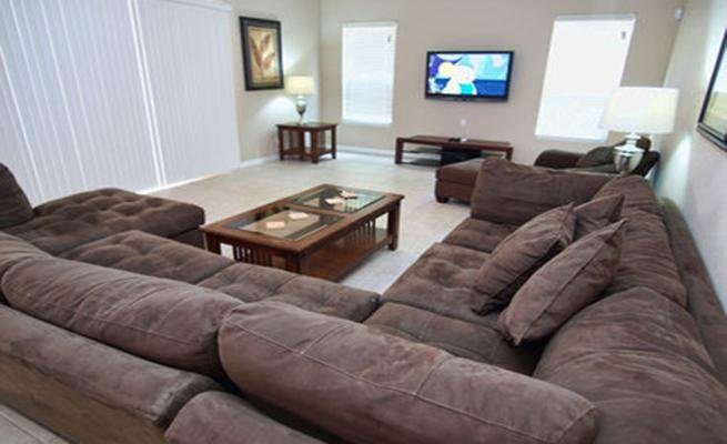 Couch, Furniture, Screen, TV, Television