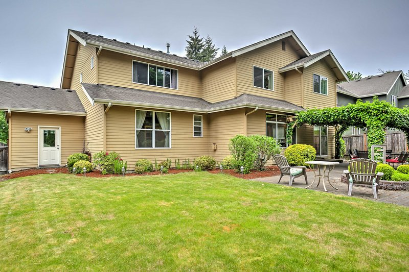 For the ultimate Washington getaway, book this fabulous vacation rental house!