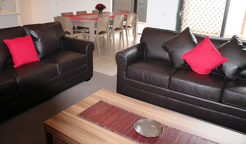 Geräumige und komfortable Wohnbereiche