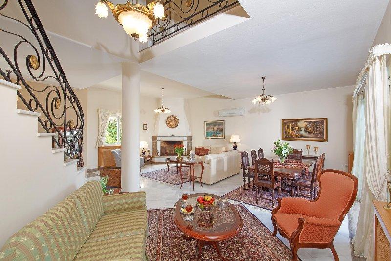 Spacious, luxurious living area