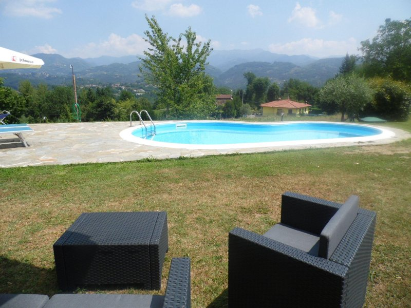 Ai Campi, private pool, WIFI, fantastic views!, vacation rental in Cardoso